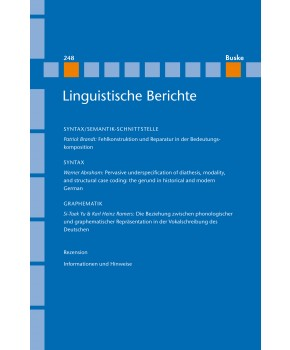 Pervasive underspecification of diathesis, modality, and structural case coding: the gerund in historical and modern German