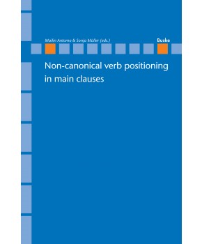 Non-canonical verb positioning in main clauses