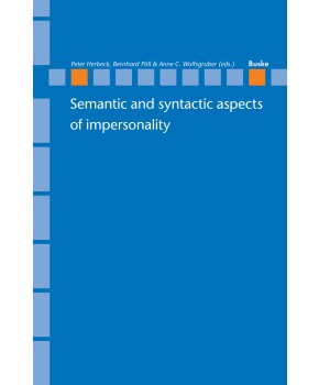 Semantic and syntactic aspects of impersonality